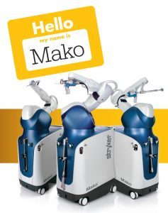 Ρομποτική Αρθροπλαστική Ισχίου - Γόνατος MAKO